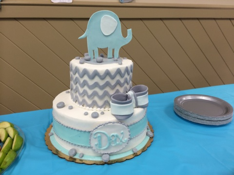 I Got This Cake Design From Pinterest And A Local Bakery In My City Made  It. They Did A Wonderful Job!